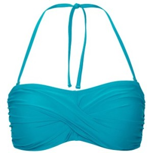 Abecita Alanya Bandeau Bikini Bra Aqua * Fri Frakt *