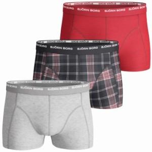 Björn Borg Short Shorts Basic Check Gift Box 3-pack * Fri Frakt *