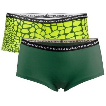 Frank Dandy Womens Crocodile Boxers 2-pack * Fri Frakt *