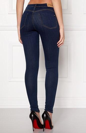 77thFLEA Jeans Miranda Push-up Midnattsblå