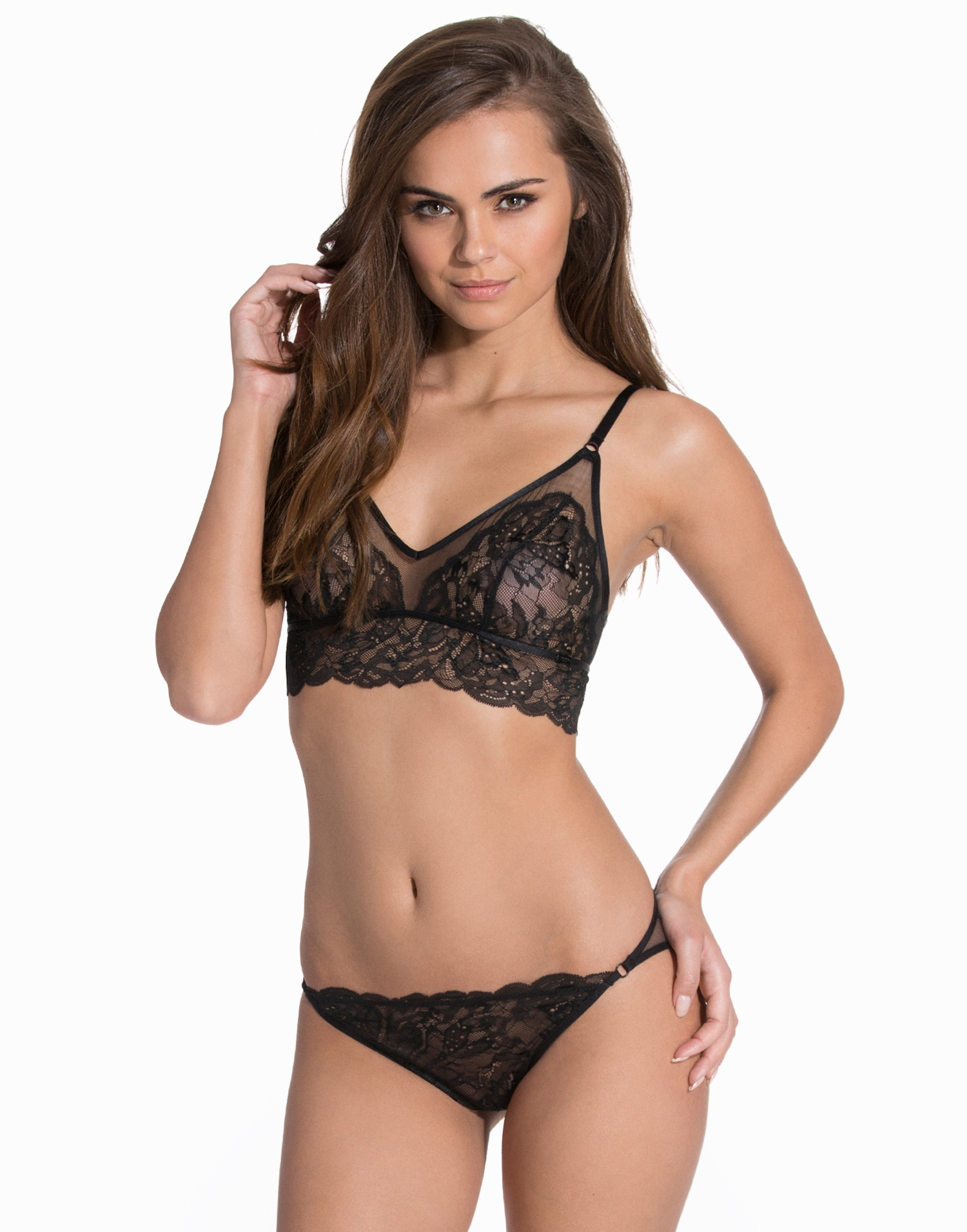 Calvin Klein Underwear Surreal Triangel Bra Set Hela Set