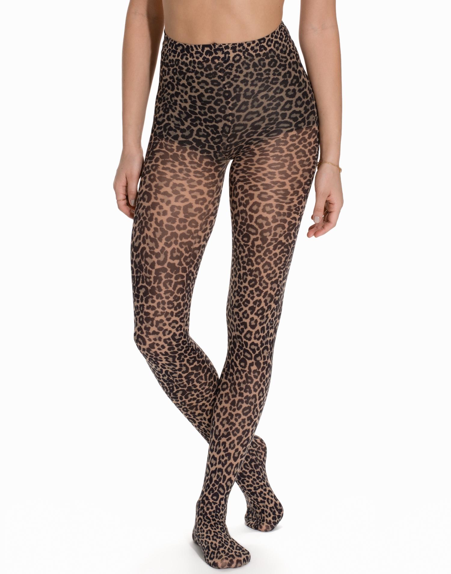 Pamela Mann Small Leopard Tights Strumpbyxor Leopard